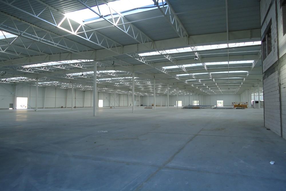 wnętrze - hala produkcyjna z budynkiem biurowym, dla Adams, Mrągowo, woj. warmińsko-mazurskie