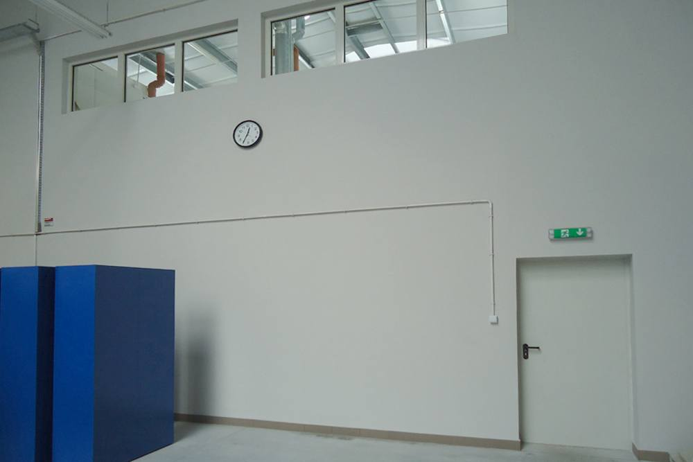 zaplecze - hala produkcyjna z częścią socjalno-biurową, dla Danmar, Łódź, woj. łódzkie