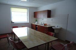 pomieszczenie socjalne - hala produkcyjna z częścią socjalno-biurową, dla Danmar, Łódź, woj. Łódzkie