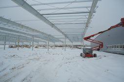 konstrukcja stalowa - hala produkcyjna, dla Wiefferink, Wykroty, woj. dolnośląskie