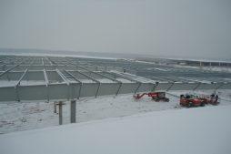 konstrukcja stalowa widziana z góry - hala produkcyjna, dla Wiefferink, Wykroty, woj. dolnośląskie