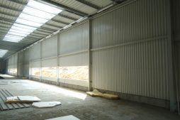 pusty otwór okienny - hala produkcyjna, dla Wiefferink, Wykroty, woj. dolnośląskie