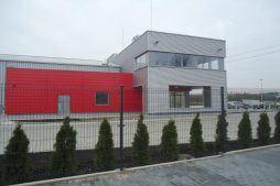 prace wykończeniowe elewacyjne 8 - sortownia i przechowalnia owoców z częścią biurową, dla Gaik, Witalówka