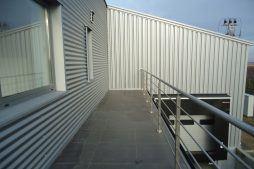 balkon - sortownia i przechowalnia owoców z częścią biurową, dla Gaik, Witalówka