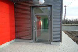 drzwi wejściowe - sortownia i przechowalnia owoców z częścią biurową, dla Gaik, Witalówka