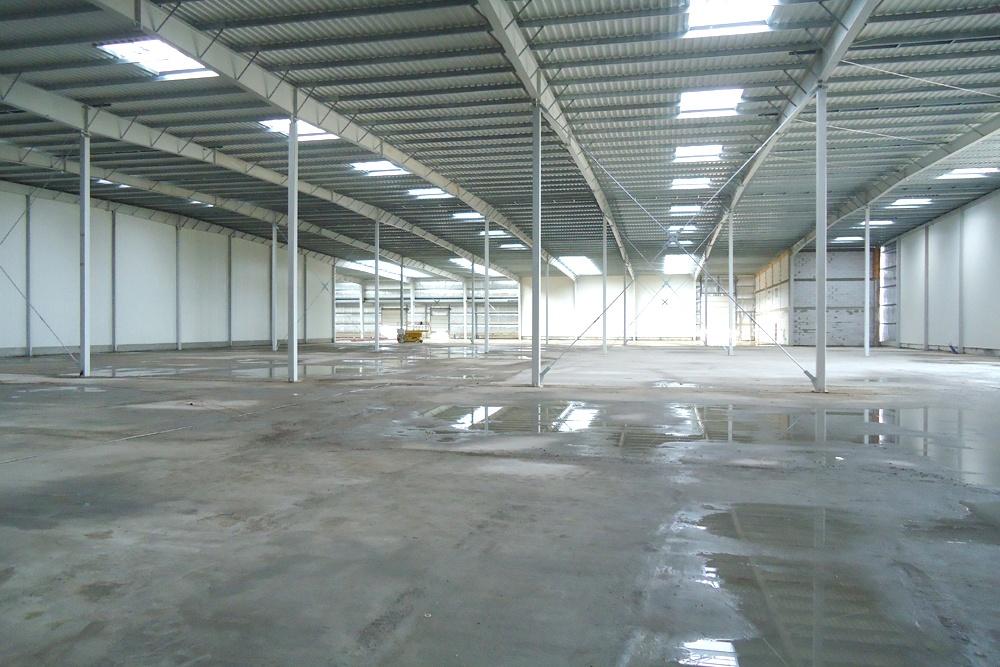 wnętrze obiektu 2 - hala produkcyjna z częścią biurową, dla Dinopol, Ostró Wlkp., woj. wielkopolskie