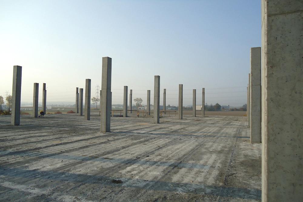 konstrukcja szkieletowa obiektu - hala handlowa, dla Koopman International, Komorniki, woj. wielkopolskie