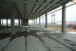 obiekt w trakcie budowy - hala handlowa, dla Koopman International, Komorniki, woj. wielkopolskie