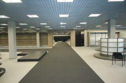 wykończenie pomieszczeń handlowych - hala handlowa, dla Koopman International, Komorniki, woj. wielkopolskie