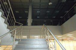schody 1 - hala handlowa, dla Koopman International, Komorniki, woj. wielkopolskie