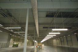 widok ogólny wnętrza obiektu 2 - hala magazynowa z budynkiem biurowym, dla Hurtap SA, Głogów, woj. dolnośląskie