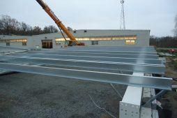 elementy konstrukcji stalowej - hala produkcyjna, dla Rotox, Pokój, woj. opolskie