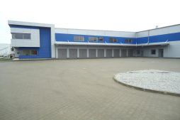 rampy załadunkowe 1 - hala magazynowa z budynkiem biurowym, dla Hurtap SA, Głogów, woj. dolnośląskie