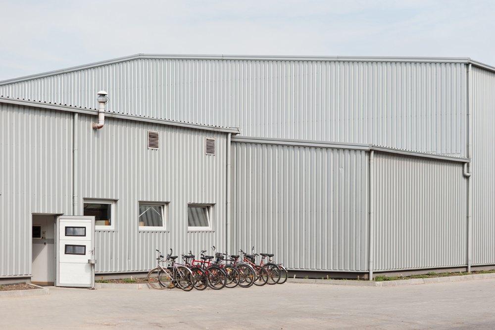 konstrukcja stalowa - hala magazynowa, dla Fadome, Złotniki, woj. opolskie