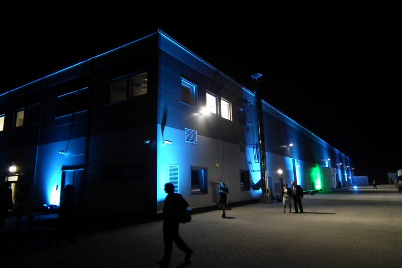 Uroczyste otwarcie zakładu firmy Arsanit