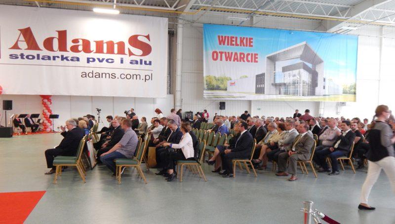 Uroczyste otwarcie hali firmy AdamS