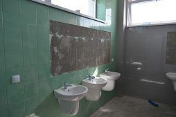 sanitariaty - budynek socjalno-biurowy, Drewtur, Słodków, woj. Wielkopolskie