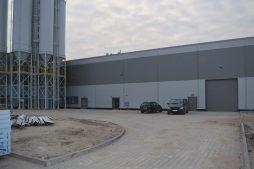 budynek z zewnątrz - hala produkcyjna, dla Arsanit, Konin, woj. wielkopolskie