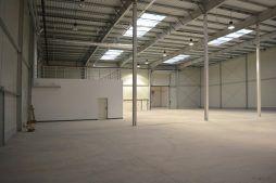 wnętrze hali produkcyjnej - hala produkcyjna, dla Arsanit, Konin, woj. wielkopolskie