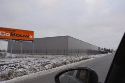 obszar budowy - hala produkcyjno-magazynowa z budynkiem socjalno-biurowym, Drewtur, Słodków, woj.wielkopolskie