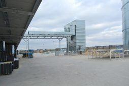 montaż centrali wentylacyjnej - hala produkcyjno-magazynowa, Drewtur, Słodków, woj. wielkopolskie