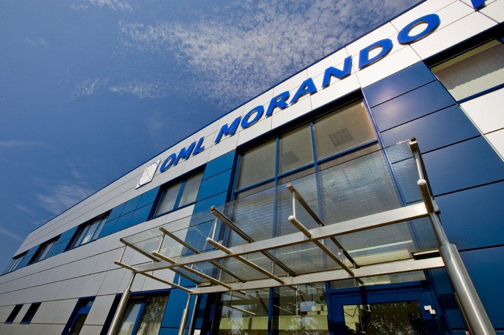 detal elewacyjny - rozbudowa hali produkcyjnej, dla OML Morando, Czerwionka-Leszczyny