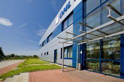 wejście do budynku - rozbudowa hali produkcyjnej, dla OML Morando, Czerwionka-Leszczyny