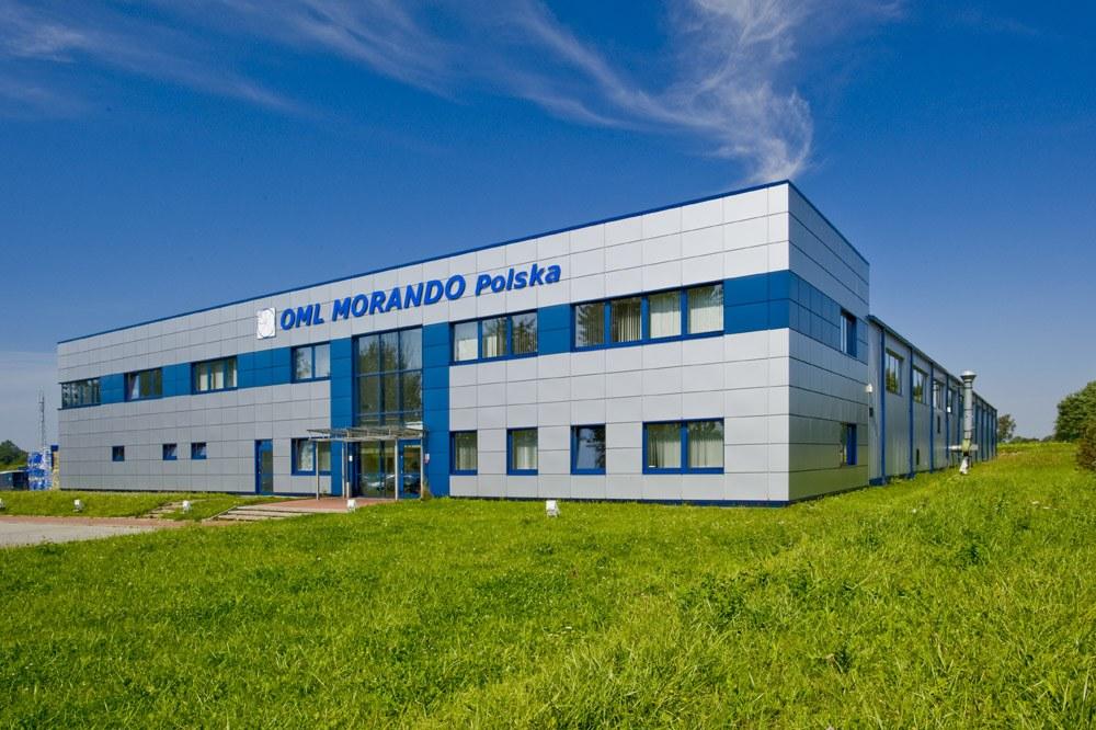 widok ogólny - rozbudowa hali produkcyjnej, dla OML Morando, Czerwionka-Leszczyny