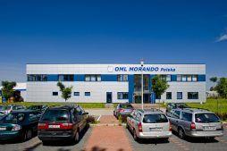 elewcja frontowa - rozbudowa hali produkcyjnej, dla OML Morando, Czerwionka-Leszczyny