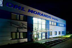 część wejściowa - hala produkcyjna z budynkiem biurowym, dla OML Morando, Czerwionka-Leszczyny