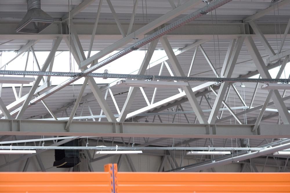 konstrukcja kratownicowa 2 - hala produkcyjna z budynkiem biurowym, dla NWM, Gubin, woj. lubuskie