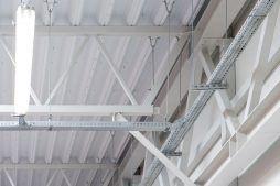 konstrukcja kratownicowa - hala produkcyjna z budynkiem biurowym, dla NWM, Gubin, woj. lubuskie