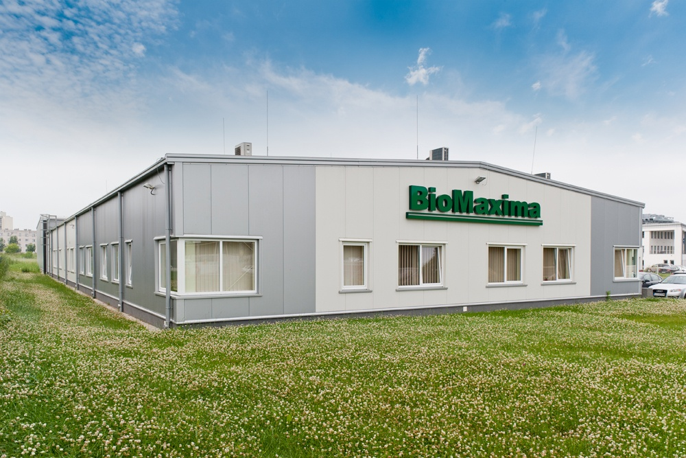 widok ogólny 3 - hala produkcyjna z częścią biurową, dla BioMaxima, Lublin, woj. lubelskie