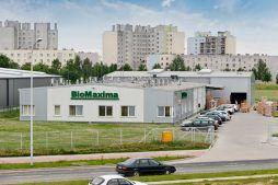widok ogólny 1 - hala produkcyjna z częścią biurową, dla BioMaxima, Lublin, woj. lubelskie