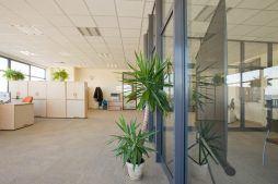 pomieszczenie biurowe - hala produkcyjno-magazynowa z budynkiem biurowym, dla Promens, Międzyrzecz, woj. lubuskie