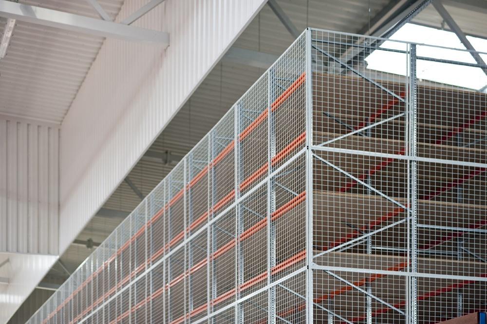 wnętrze hali 4 - hala produkcyjno-magazynowa, dla Mardom, Lipniki Stare, woj. mazowieckie