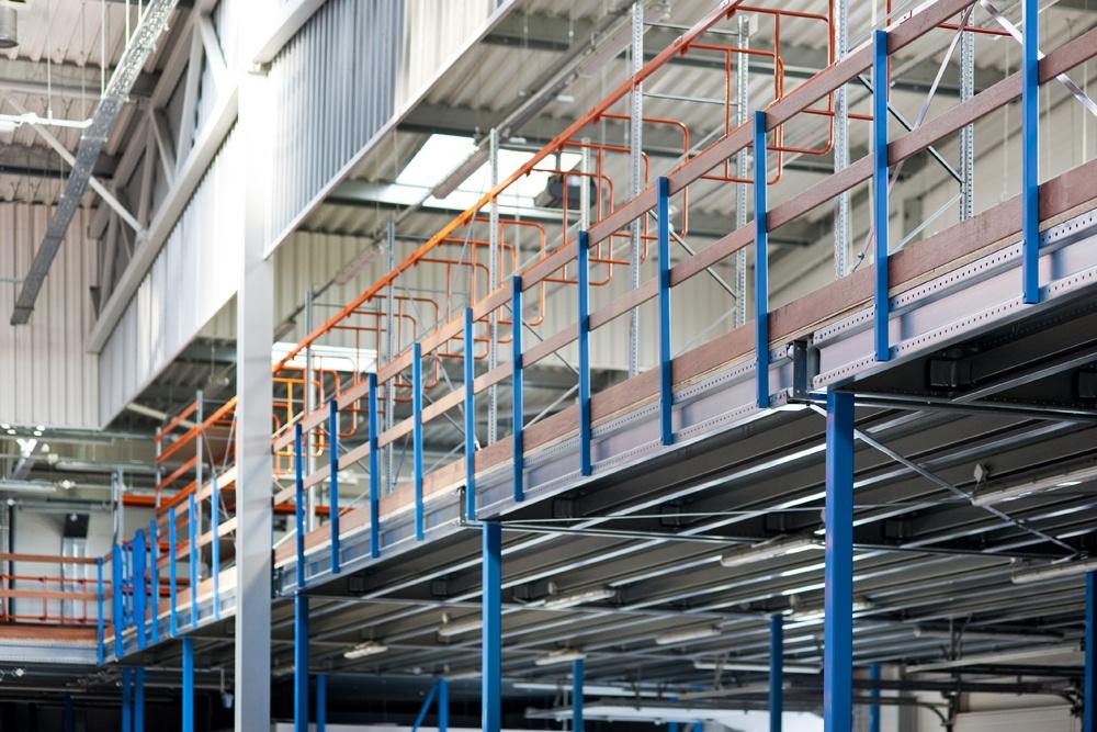 wnętrze hali 5 - hala produkcyjno-magazynowa, dla Mardom, Lipniki Stare, woj. mazowieckie