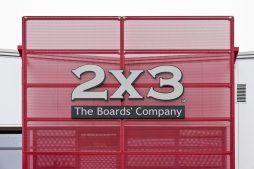 logo inwestora - hala produkcyjno-magazynowa z częścią biurową, dla 2x3, Krzęcin, woj. zachodniopomorskie