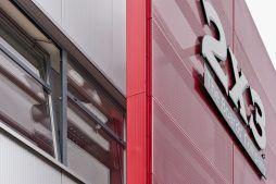 detal z blachy perforowanej 4 - hala produkcyjno-magazynowa z częścią biurową, dla 2x3, Krzęcin, woj. zachodniopomorskie