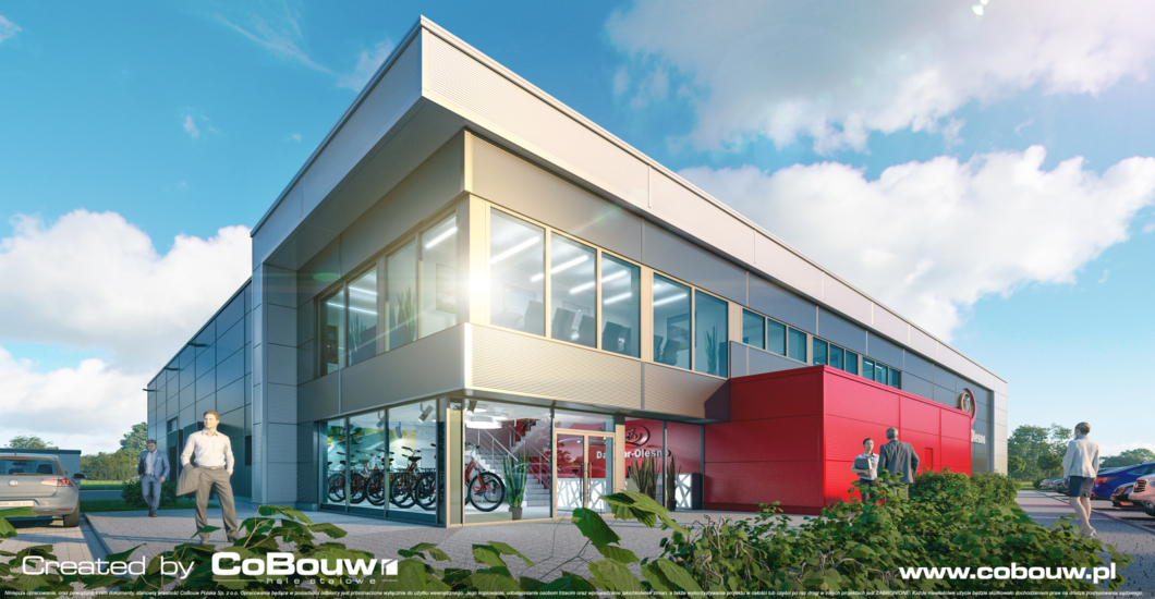 DAWSTAR – hala stalowa dla producenta rowerów