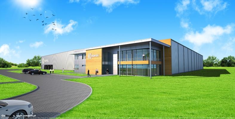 Budowa hali dla firmy Dinopol