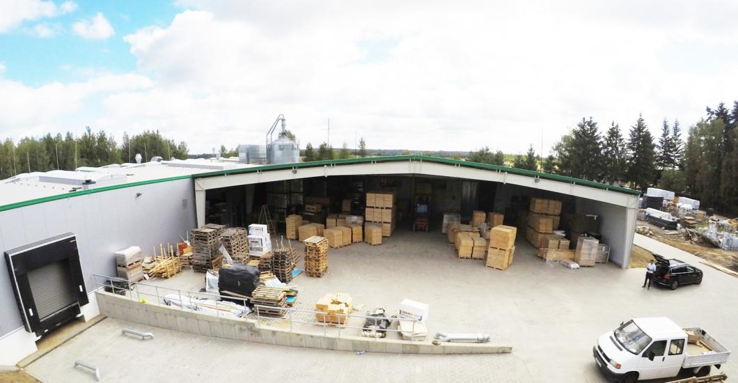 DREWCO – 2 hala produkcyjna, branża meblarska