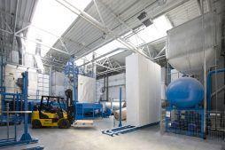 zaplecze techniczne 2 - hala produkcyjna z częścią biurową, dla Arsanit, Konin, woj. wielkopolskie