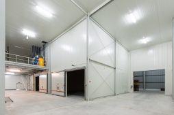 brama wjazdowa widziana od wewnątrz 1 - hala magazynowa, dla Witamina, Biała Rządowa