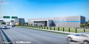 Wizualizacja inwestycji EGA z trasy S8 - inwestycja w systemie zaprojektuj i wybuduj, dla branży kamieniarskiejm, w woj. mazowieckim