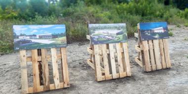 Wizualizacje rozpoczętej inwestycji-budowa hali produkcyjnej dla Spectra Lighting, Załuski, woj. mazowieckie