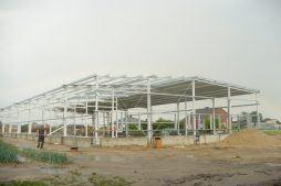 konstrukcja stalowa - hala produkcyjna z częścią biurową, dla GG Tech, Piątek, woj. łódzkie