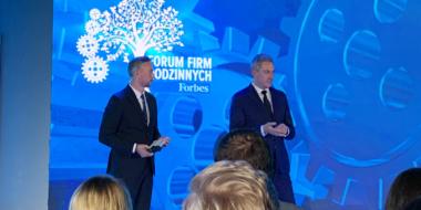 Uroczytsa gala wręczenia nagród i wyróżnień - Forum Firm Rodzinnych Forbes, edycja 2019, Fabryka Wełny, Pabianice