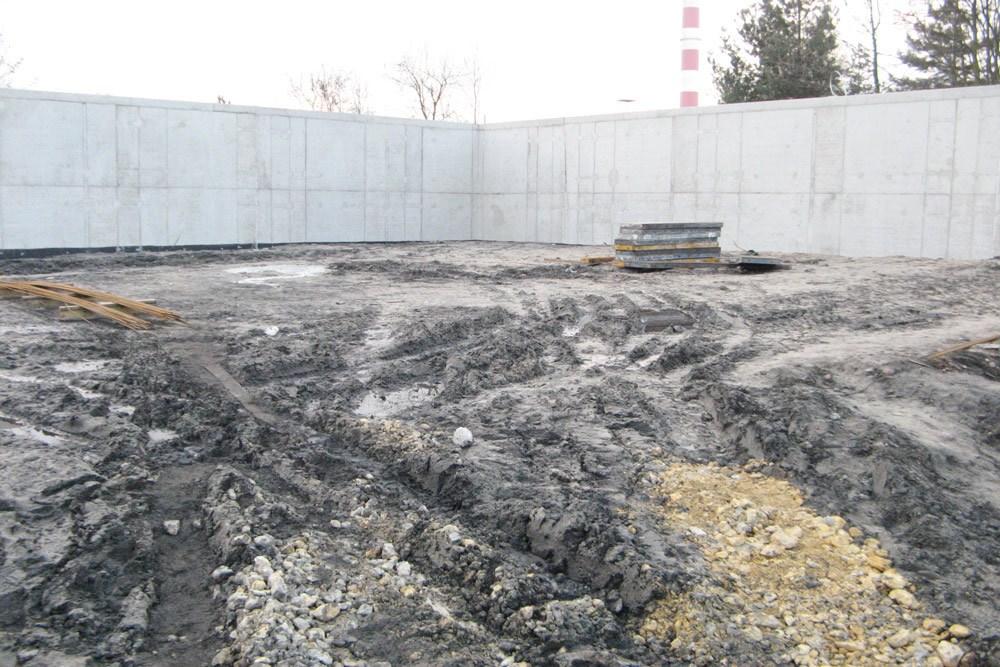 prace ziemne - hala przemysłowa, dla Van Gansewinkel, Ruda Śląska, woj. śląskie