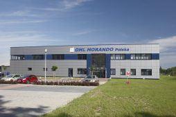 ściana frontowa - rozbudowa hali produkcyjnej, dla OML Morando, Czerwionka-Leszczyny